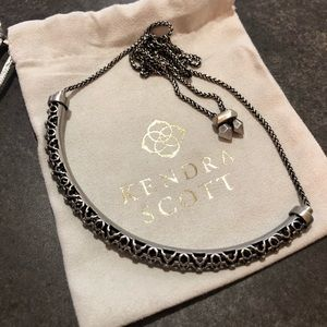 Kendra Scott Lucy Choker in Antique Silver